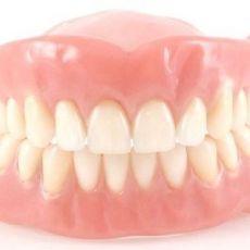 Крем клей гель для фиксации зубных протезов